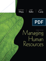 Cover & Table of Contents - Managing Human Resources (7th Edition)
