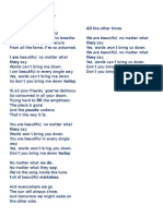 Lyric Christina Aguilera-beautiful