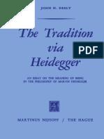 Deely, Tradition via Heidegger
