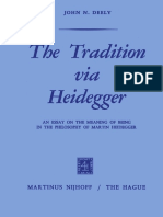 Deely, Tradition via Heidegger