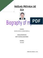 Mi biografia