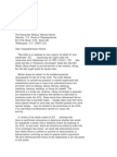 US Department of Justice Civil Rights Division - Letter - tal610