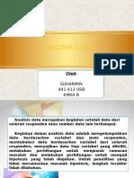 BAB 8 analisis data