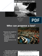 how a bill becomes a law - power point