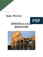 Epistola a Los Romanos- Carátula