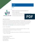 UD SEED Info Sheet