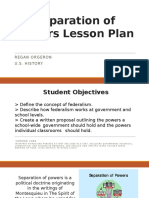 a07 - separation of powers lesson plan