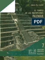 Alberto Ruz - El Templo de Las Inscripcciones, Palenque