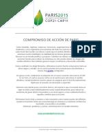 07.Paris Pledge for Action Spanish
