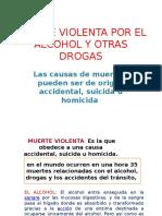 Muerte Violenta Por El Alcohol y Otras Drogas Proyector