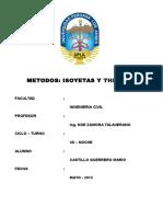 Hidrologia Isoyetas y Tesen