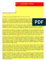 AMPPE - Carta de Apresentação Chapa 2 - CONSTRUIR JUNTOS em cores