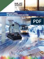 Optimus - Catalogo Megafonia e Intercomunicacion