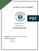 Corporate Law- Board of Directors