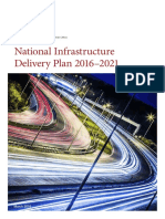 National Infrastructure Plan 2021 UK