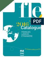 Catalogue Francais Langue Etrangere 2015 Ed1 v1