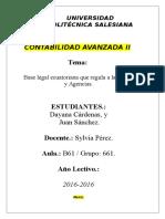 Base Legal (Matriz y Agencias)