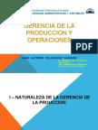 1. Gerencia de La Producción