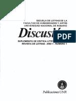 Saga Revista de Letras Memoria Discusion