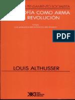 Althusser - La filosofía como arma de la revolución.pdf