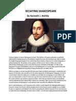 Appreciating Shakespeare