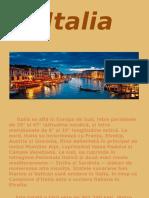 Italia Geografie proiect