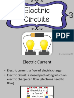 electric circuits tpt