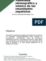 Panorama Sociodemográfico y Económico de Las Comunidades Zapatistas