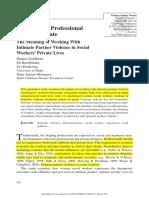 Between the Professional and the Private_GOLDBLATT ET AL_2009