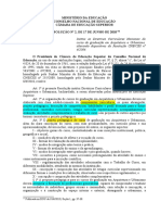 MEC - Resolução CNE/CES nº2, de 17/06/2010