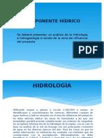 COMPONENTE HÍDRICO