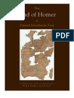 Iliad Interlinear Book 1