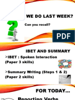 reporting verbs ppt