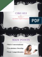 cirg 653 module 7 powerpoint by katie napier