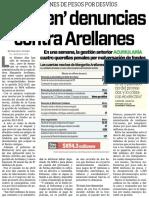 27-04-16 'Llueven' denuncias contra Arellanes