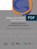 Dialogos Sobre ESS en Ecuador