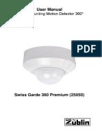 Swiss Garde 360 Premium AP User Manual