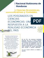 Los Posgrados en Ciencias Económicas