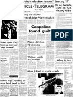 April 28, 1967 Chronicle front page