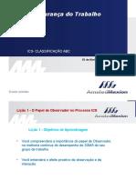Ics- Indice de Comportamentos Seguros - Avaliação ABC Rev1