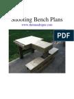 Free Shooting Bench Plans