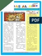 Boletín Del Departamento de Español, Abril 2016