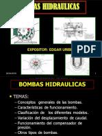 Curso Bombas Hidraulicas Funcionamiento Estructura Componentes Clasificacion Tipos Caudal Compensador Presion