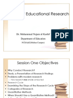 Educational Research Presentation