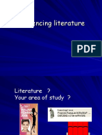 Referencing & Literature
