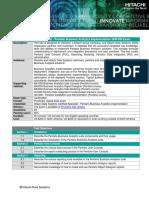 Hitachi Pentaho Business Analytics Implementation Hh0 590 Exam