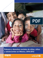 UNICEF BriefPobreza Infantil 2010 2012 (1)