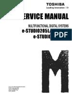 Toshiba ES455 Service Manual