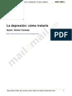 La Depresion Como Tratarla 4821