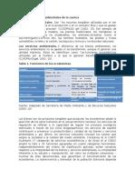 Bienes y Servicios Ambientales de La Cuenca